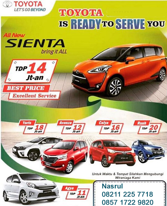 Promo Toyota Modernland Tangerang