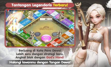 Seksinya Karakter Get Rich Update Peta God's Hand Map