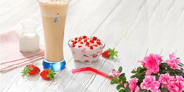 ev yapımı nescafe ice classic soğuk kahve