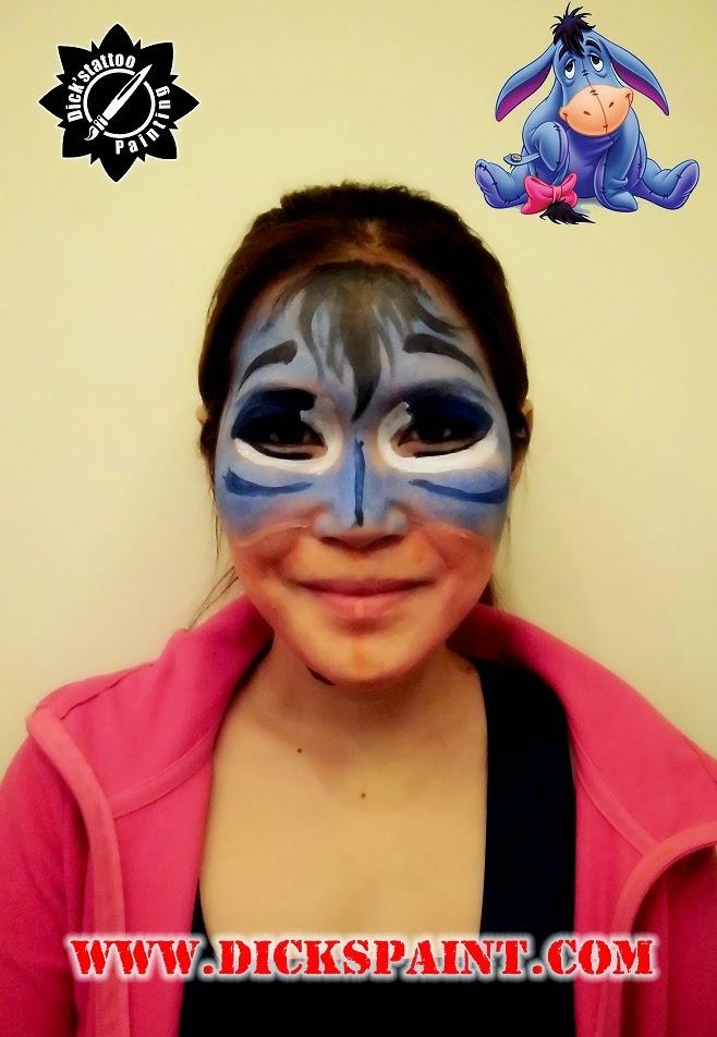 face painting jakarta cartoon eeyone