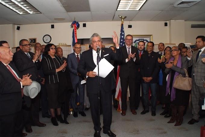 Cónsul en NY  propone alianza estratégica con liderazgo comunitario por una nación más fuerte
