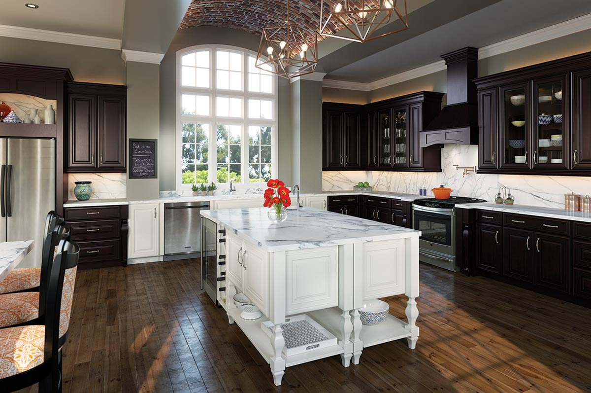 waypoint kitchen cabinets lowes island lighting living spaces 740f