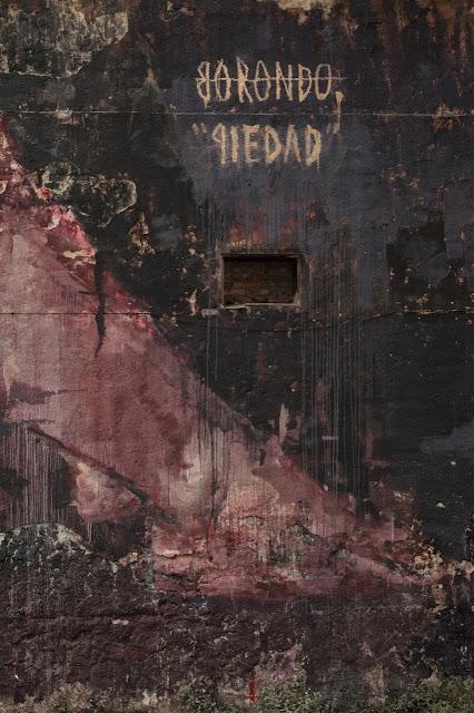 """Piedad"" New Street Art Piece By Borondo On the streets of Rome, Italy. 5"