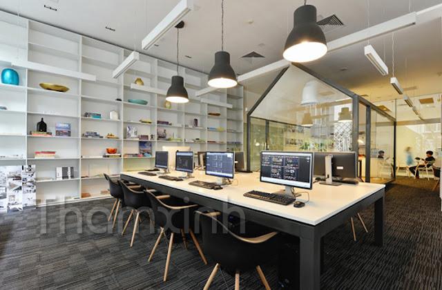 Lựa chọn thảm trải sàn cho văn phòng làm việc