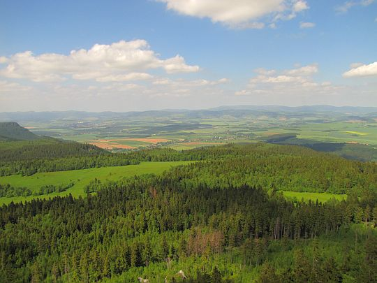 Północny obszar Ziemi Kłodzkiej (czes. Kladsko, niem. Glatzer Ländchen).