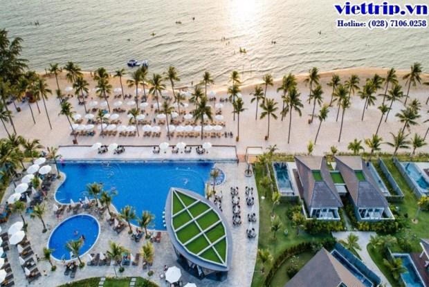 Novotel Phú Quốc nhìn từ trên cao