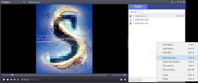 تحميل برنامج تشغيل الفيديو والافلام والاغاني مجانا للكمبيوتر PotPlayer 1.6