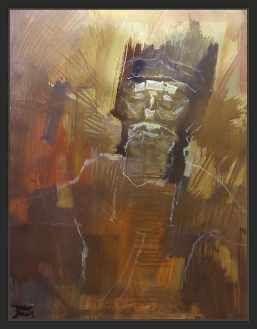 DIOSES-MESOPOTAMIA-PINTURA-ARTE-ART-ENLIL-ANUNNAKI-PODER-SEVERIDAD-PINTURAS-ARTISTA-PINTOR-ERNEST DESCALS
