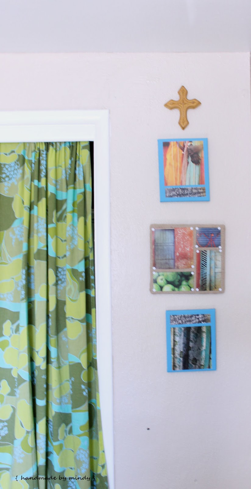 Handmade by Mindy: Recycled Wall Art