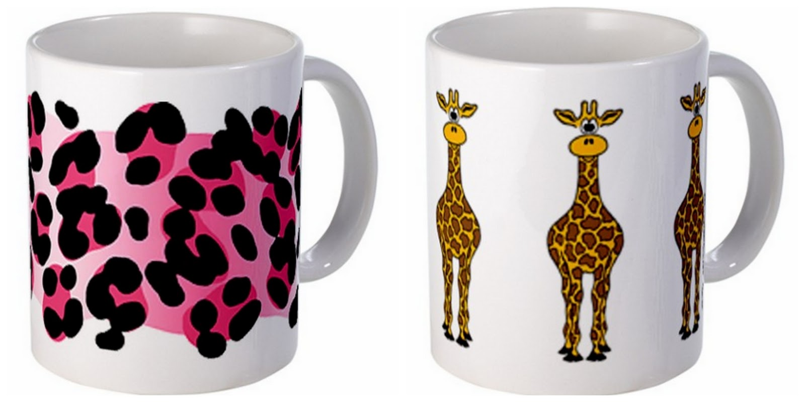 colorful fun mugs