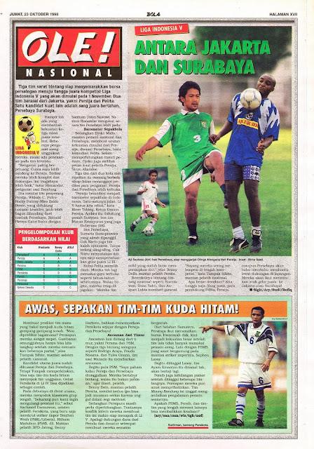 LIGA INDONESIA V ANTARA JAKARTA DAN SURABAYA