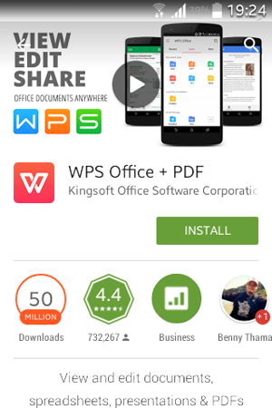 WPS Office on Google Play