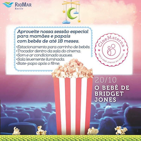 Cinematerna no RioMar Recife