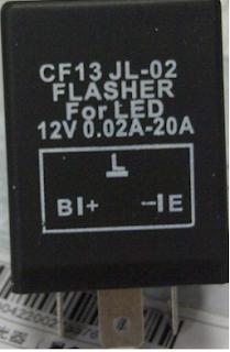 Membuat lampu sein Hazard pada Motor