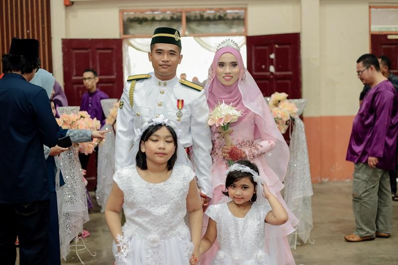 Baju Kahwin Tentera