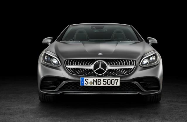 2018 Mercedes SLC Front