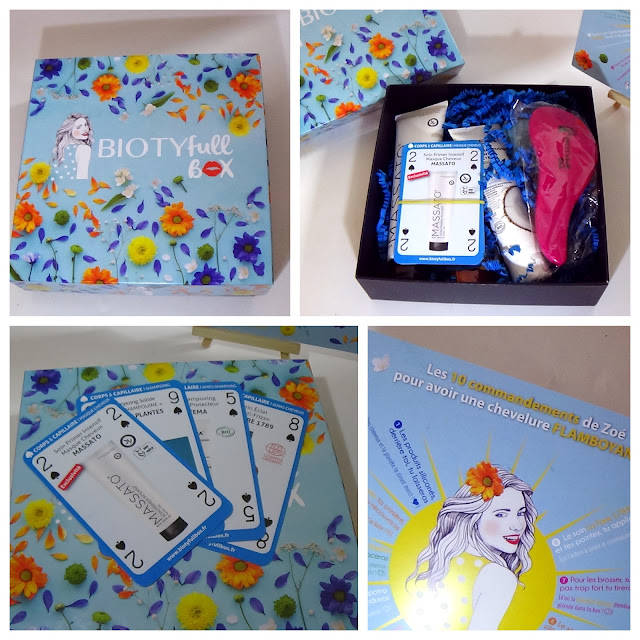 Biotyfull Box de Mai - La flamboyante