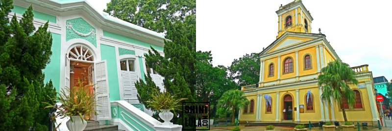 (Taipa Houses Museum & Our Lady of Camo Church)