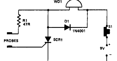 Super Circuit Diagram: Water-level indicator Circuit Diagram