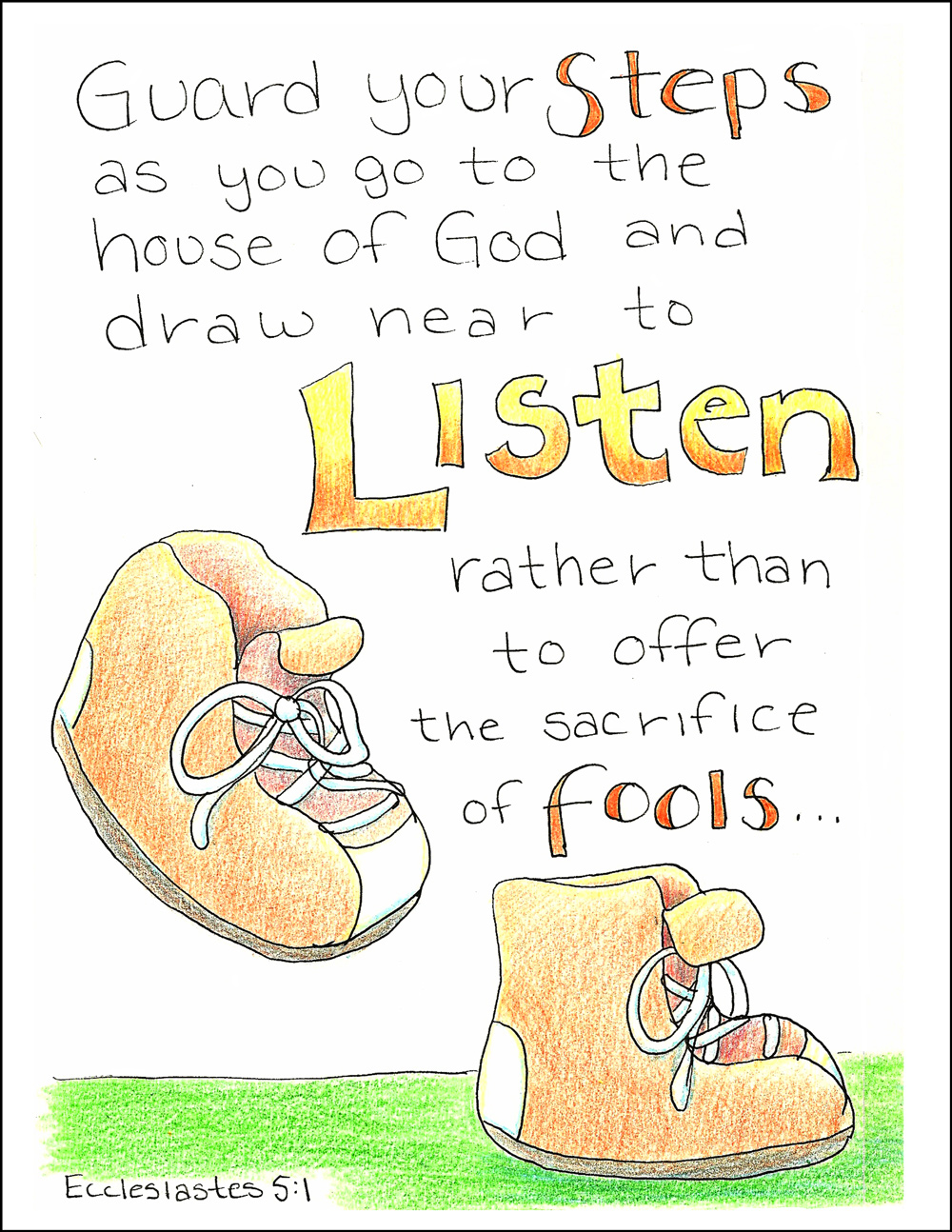 ecclesiastes 3 1 coloring pages - photo#28
