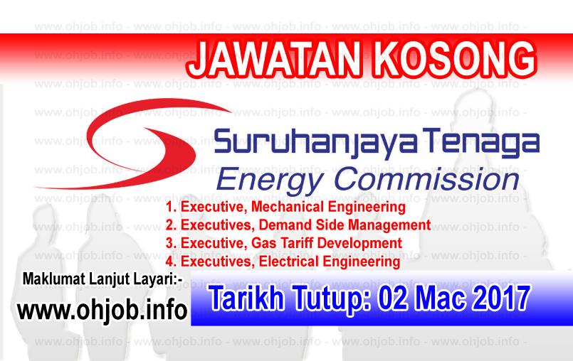 Jawatan Kerja Kosong Suruhanjaya Tenaga (ST) logo www.ohjob.info mac 2017