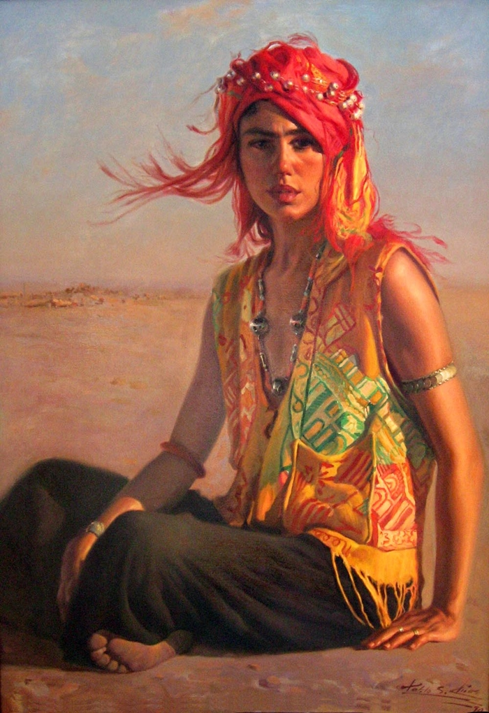 Hyper Realistic Figurative Paintings by Spanish Artist ... |Realistic Figurative Painting