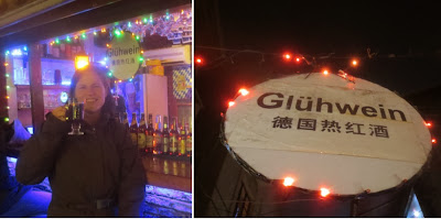 Barbara trinkt Glühwein - Tianzifang Shanghai