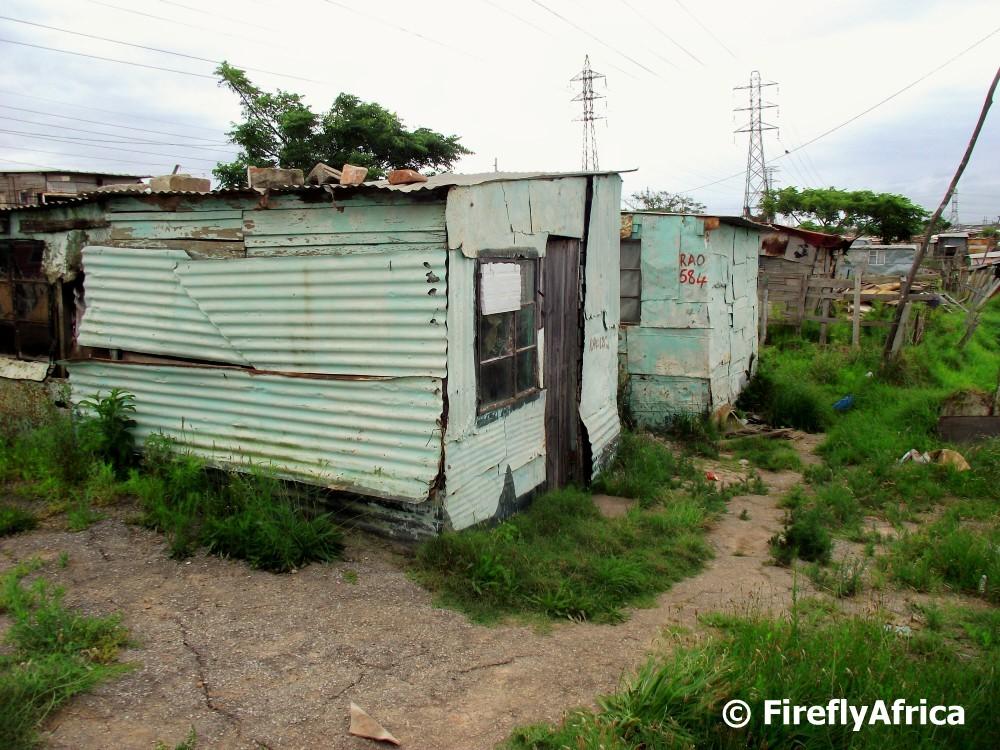 Port elizabeth daily photo informal shack for Shack homes