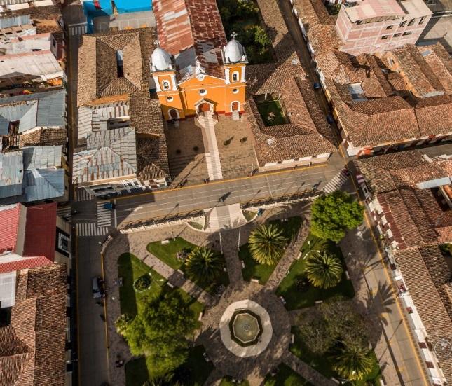 Una espectacular vista de Cajabamba en 360°