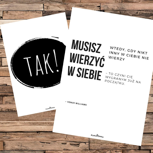 darmowe plakaty motywacyjne z cytatami