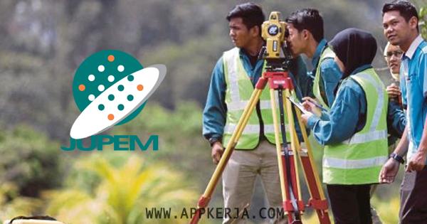 Permohonan Online Jawatan di Jabatan Ukur dan Pemetaan (JUPEM) - 13 Mei 2018