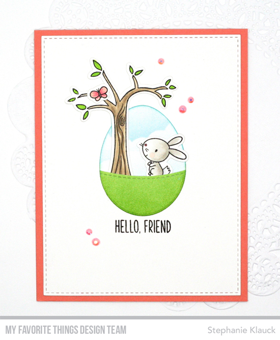 Handmade card by Stephanie Klauck featuring products from My Favorite Things #mftstamps