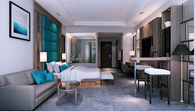 thiết kế căn hộ condotel Beau Rivage Nha Trang