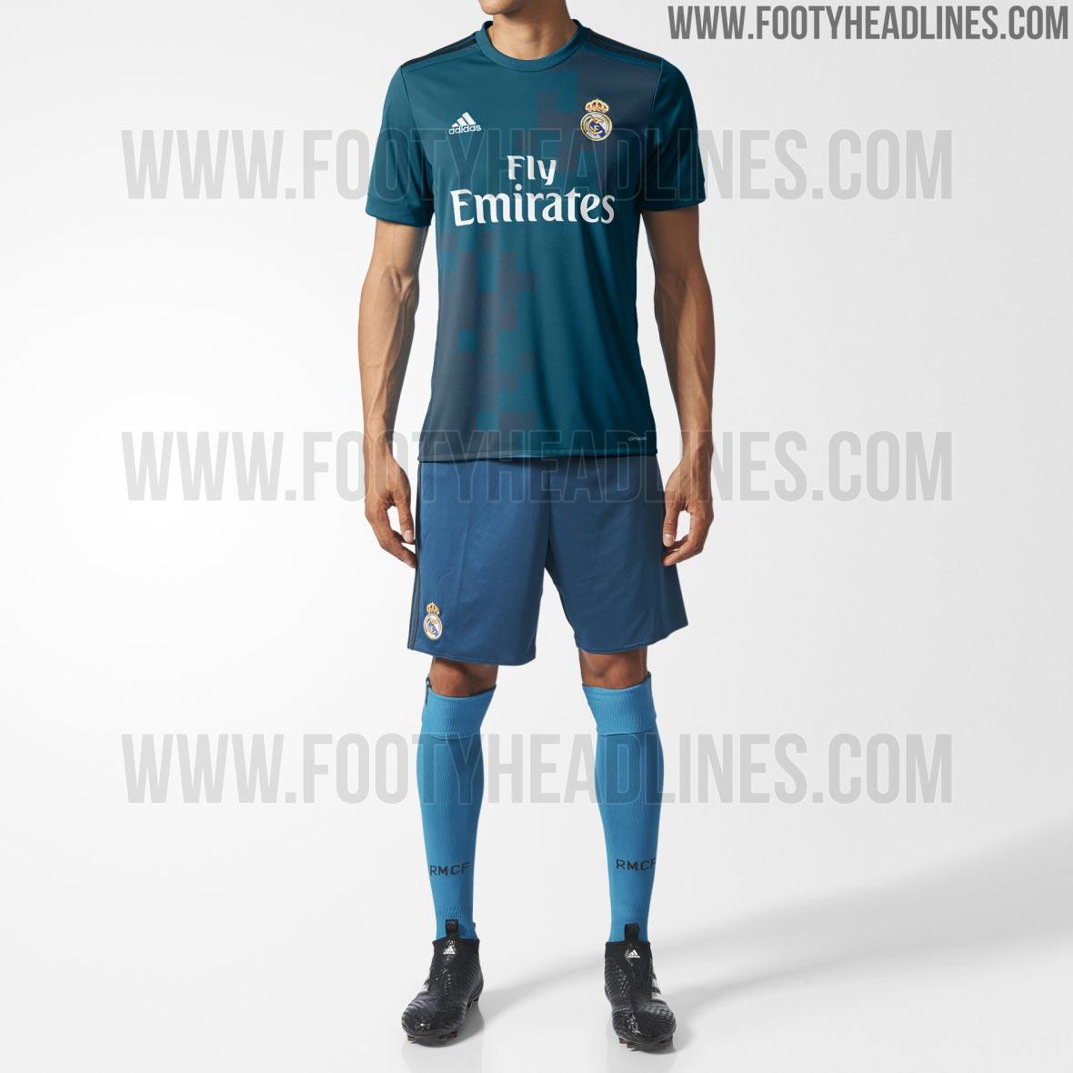 Sorprendente nueva tercera equipación para el Real Madrid 2017 18 10c860d786d1c