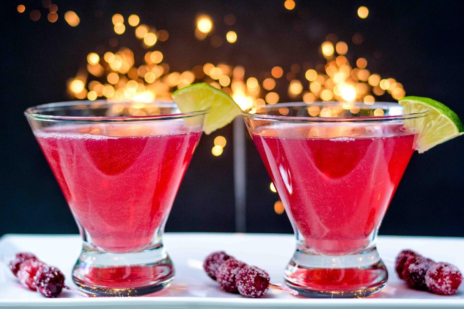Pomegranate Cranberry Cocktail