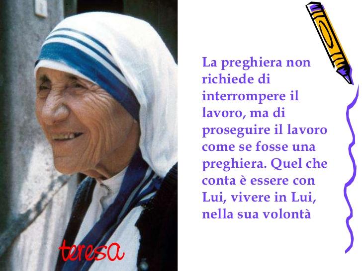 Eccezionale leggoerifletto: Madre Teresa di Calcutta SANTA, 4 settembre 2016 CG28