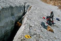 日本初の氷河か