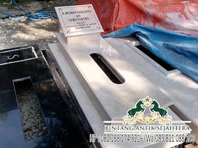 Jual Kijingan Kuburan, Harga Makam Marmer Murah