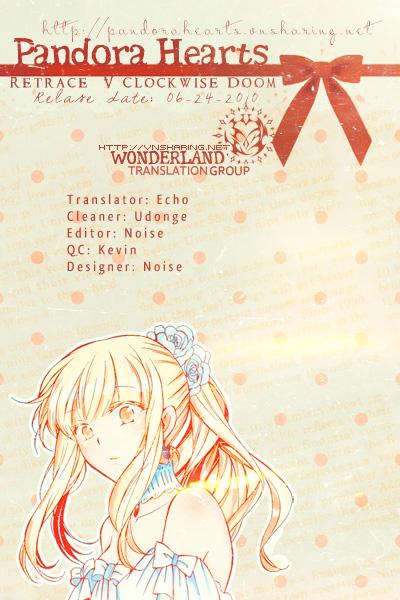 Pandora Hearts chương 005 - retrace: v clockwise doom trang 42
