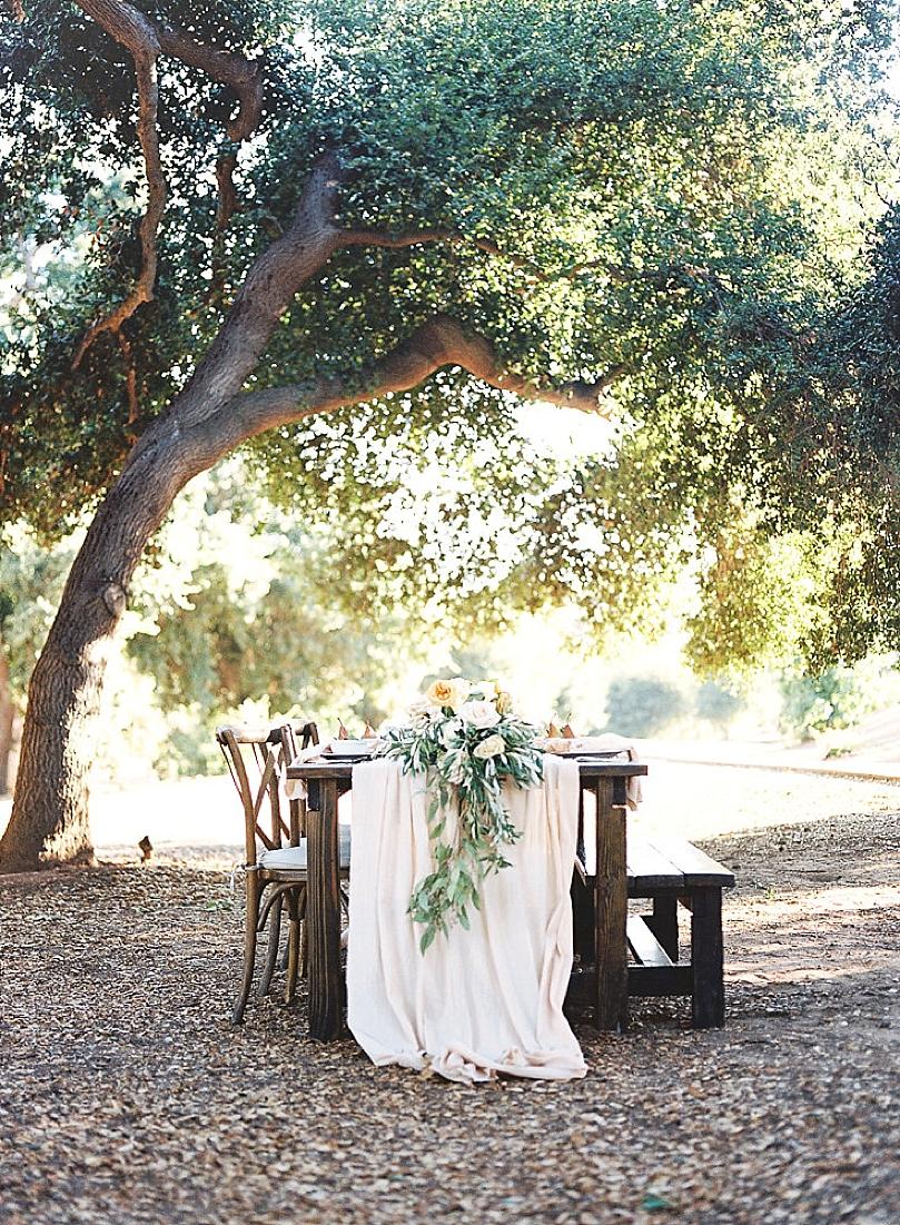 Organic Al Fresco Wedding Inspiration At Chateau Adare