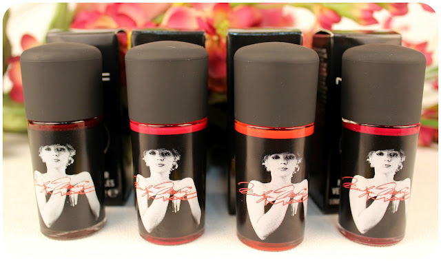 Mac's Marilyn Monroe Nail Polish Swatches