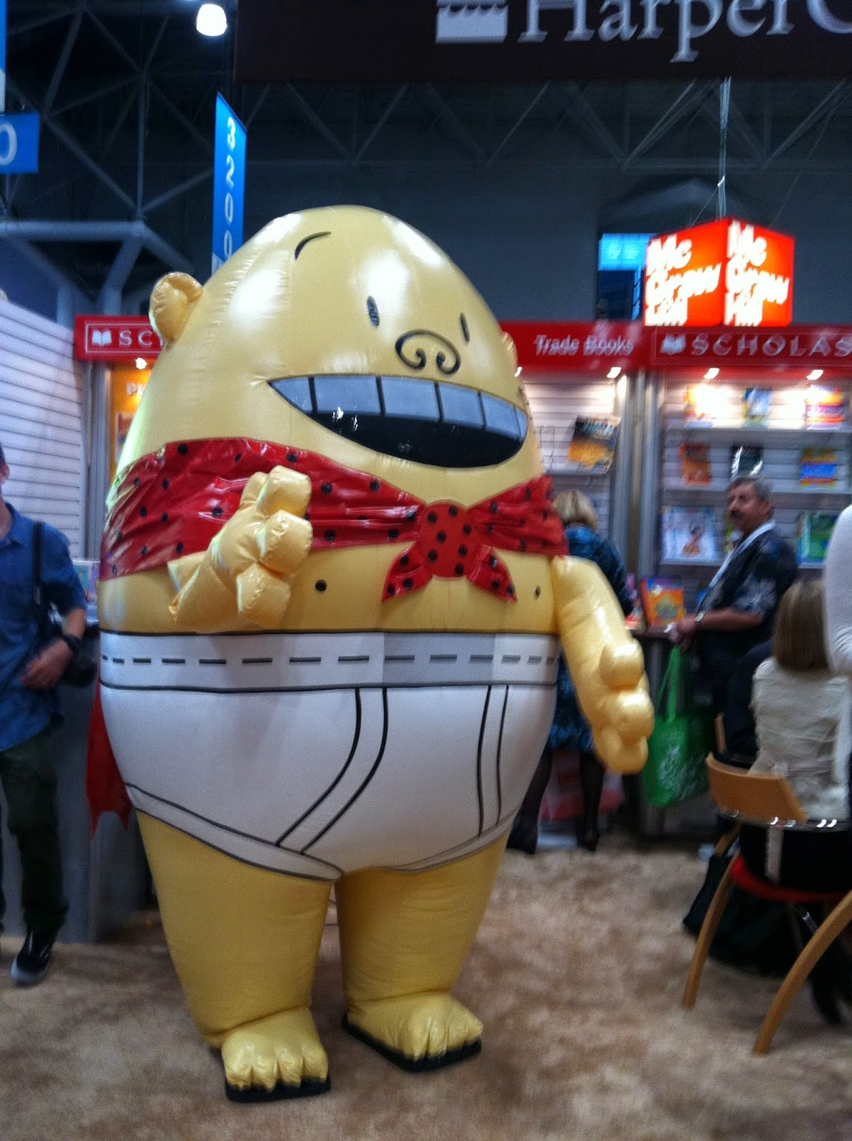 Captain Underpants at Book Expo America 2012