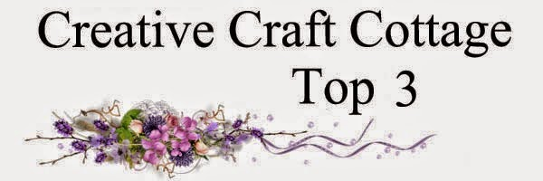 Top Three Creative Craft Cottage - Challenge # 35 Not Quite Straight