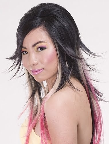 Popular Hairstylers Two Tone Hair Color For Long Hair
