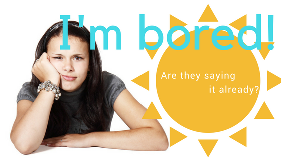 "How to stop boredom with your ""tween"" this summer."
