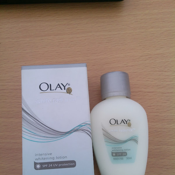 Review: Olay White Radiance Lotion