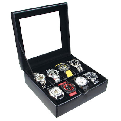 Shop Nile Corp Wholesale Leatherette Watch Box For Eight Watches