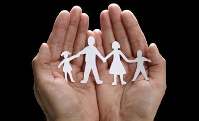 lindungi keluarga