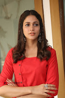 Actress Lavanya Tripathi Latest Pos in Red Dress at Radha Movie Success Meet .COM 0206.JPG