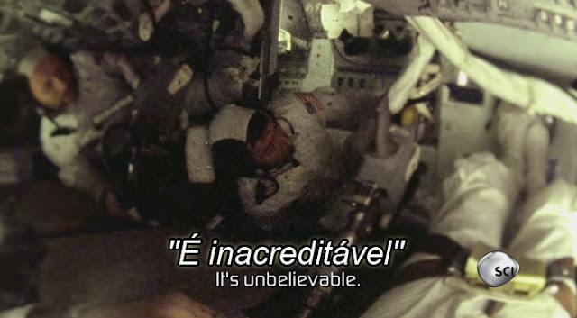 Sons estranhos na Lua - astronautas da missão apollo 10